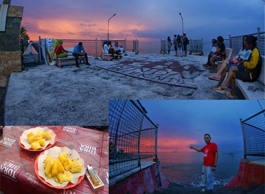Ambon Goreng & Sunset Paduan Pas Mantap